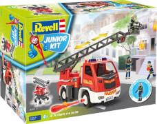 REVELL Feuerwehr Leiterwagen mit Figur 1:20