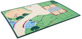 Schleich Farm World 42138 Spieleteppich
