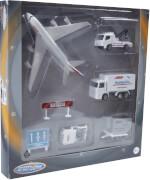 Speed Zone D/C Flughafen Spielset, 2-fach sortiert, ca. 28x4x21 cm, ab 3 Jahren (nicht frei wählbar)