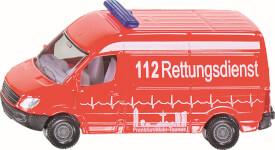 SIKU 0805 SUPER - Krankenwagen, 1:55, ab 3 Jahre