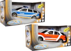 Speed Zone Einsatzfahrzeuge 1:18 , Licht & Sound, sortiert, ca. 27x10x19,1 cm, ab 3 Jahren (nicht frei wählbar)