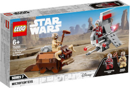 LEGO® Star Wars# 75265 T-16 Skyhopper# vs Bantha# Microfighters