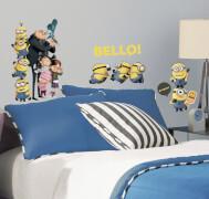RoomMates Minions Wandtattoo