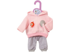 Dolly Moda Sport-Outfit Pink, Gr. 30cm