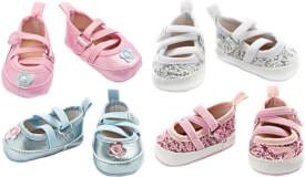 Puppen-Ballerina-Schuhe Größe 38 - 45 cm, sortiert