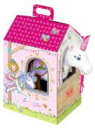Einhorn Rosalie im Stall Prinzessin Lillifee