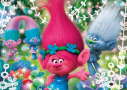 Clementoni Puzzle Glitter Dreamworks Trolls 104 Teile