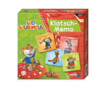 NORIS Spiele Leo Lausemaus Klatsch-Memo