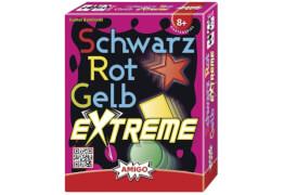 AMIGO 01715 Schwarz Rot Gelb Extreme, Kartenspiel, für 2-6 Spieler, Spieldauer: ca. 20 Min, ab 8 Jahren