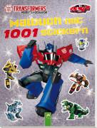 Transformers Malbuch mit 1000 Sticker