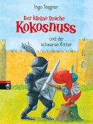 Der kleine Drache Kokosnuss und der schwarze Ritter, Band 4, Gebundenes Buch, 80 Seiten, ab 6 Jahren
