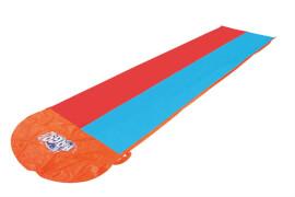 Bestway Wasserrutsche H20 Go Double Slide, 549 x 138cm, orange, Vinyl