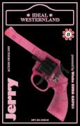 CH 8 Schuss Pistole,pink 19,2cm, Karte