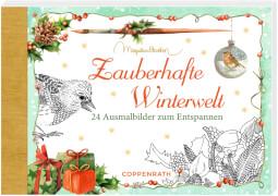 Zauberhafte Winterwelt (Bastin), Kreativbuch-Adventskalender