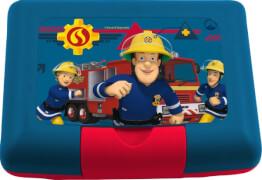 p:os 30765 Feuerwehrmann Sam Brotdose mit Trenner